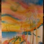 In Progress | Sunset #13 palm trees