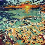 new work – sunset #5 off PCH