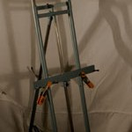 about easels and tools