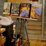 Easel Panel – Three to Four Painting Surfaces At Once