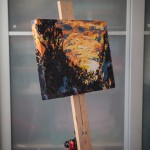 "How I Painted ""Veldt Sunset"""